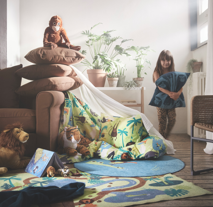 """IKEA Yeni Oyuncak Serisi ile Çocuklara """"Sürdürülebilir Yaşamı"""" Öğretiyor"""