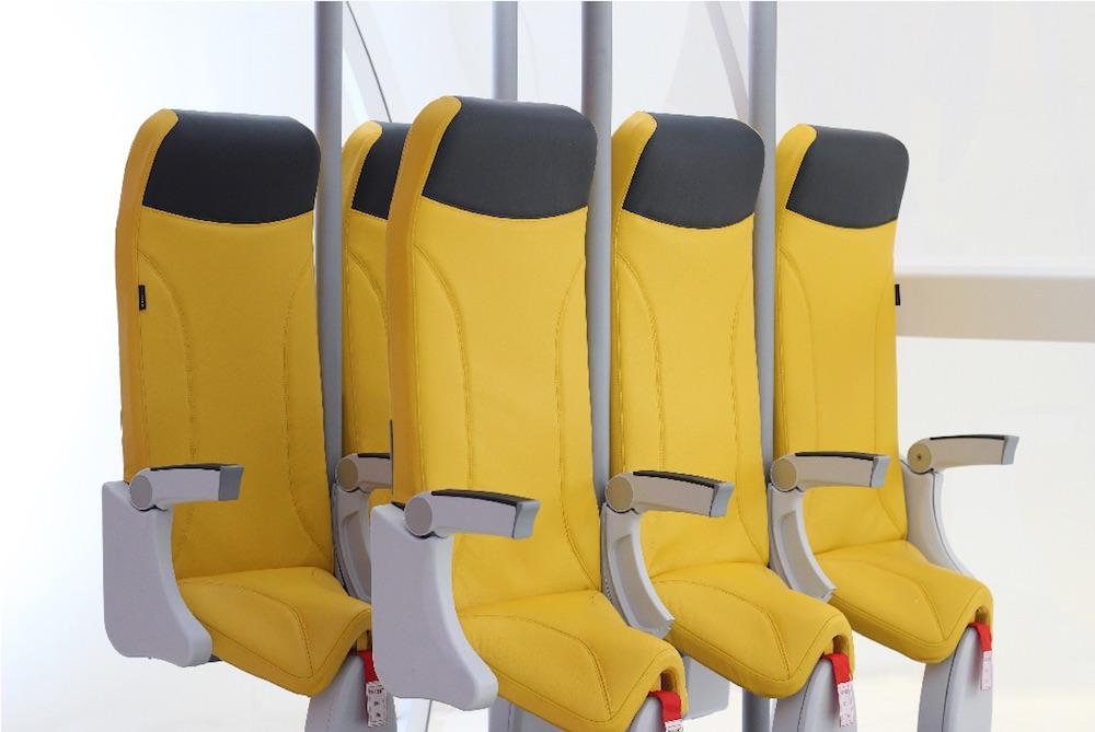 """""""Hiç Oturmasaydık"""" Dedirtecek Uçak Koltuğu Tasarımı"""