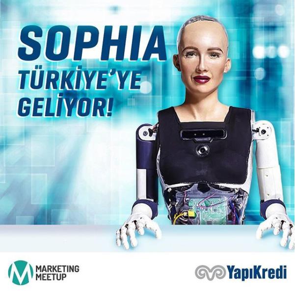 Yapı Kredi 5 Şanslı Kişiyi Sophia ile Tanıştırıyor!