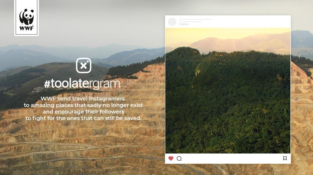 WWF, Instagram Filtreleri ile Çevre Kirliliğine Dikkat Çekiyor