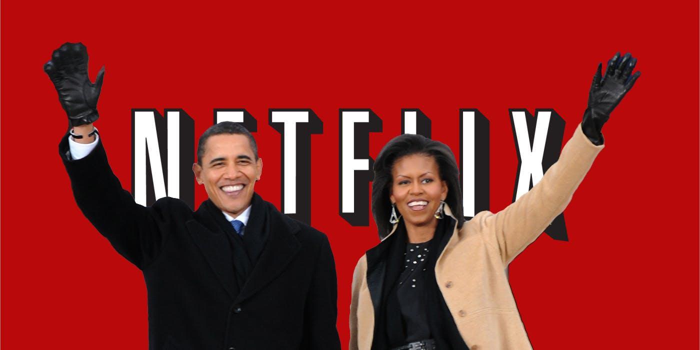 Barack ve Michelle Obama Netflix'e İçerik Üretecek