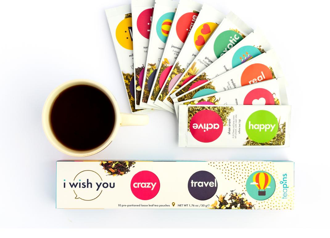 """Kişiselleştirilmiş Çay Paketleri ile Vietnam'dan Dünyaya: """"I wish you"""""""