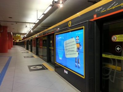 Brezilya'daki Reklam Panoları Gelen Tepkileri Ölçebiliyor