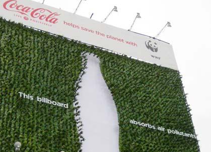 Hava Kirliliğine Dikkat Çeken Yaratıcı Billboard Örnekleri