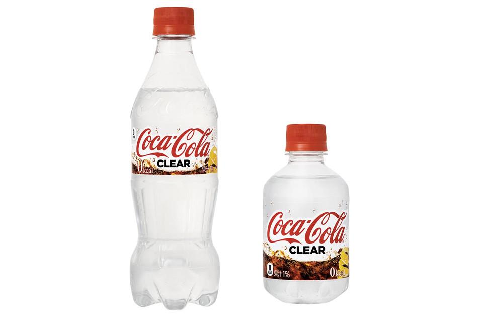 Coca Cola'dan Renksiz, 0 Kalori Bir Yenilik: Coca Cola Clear