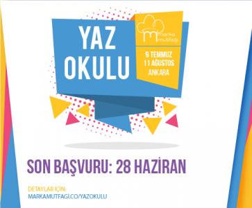 Marka Mutfağı Ankara'da Bir İlki Gerçekleştiriyor: Marka Mutfağı Yaz Okulu!
