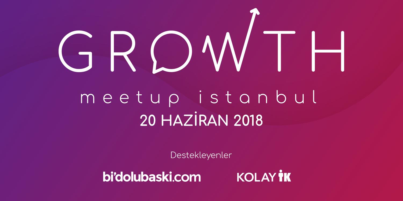 Growth İstanbul Etkinlikleri Başlıyor