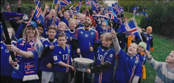 İzlanda Coca Cola Dünya Kupası Reklamını İzlanda Milli Takım Kalecisi Thór Halldórsson Yönetiyor!