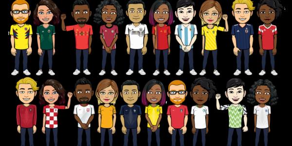 Nike ve Adidas Dünya Kupası için Güçlerini Bitmoji ile Birleştiriyor