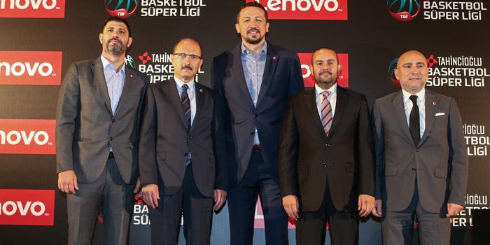 Lenovo, Tahincioğlu Basketbol Süper Ligi'nin Ana Sponsoru Oldu