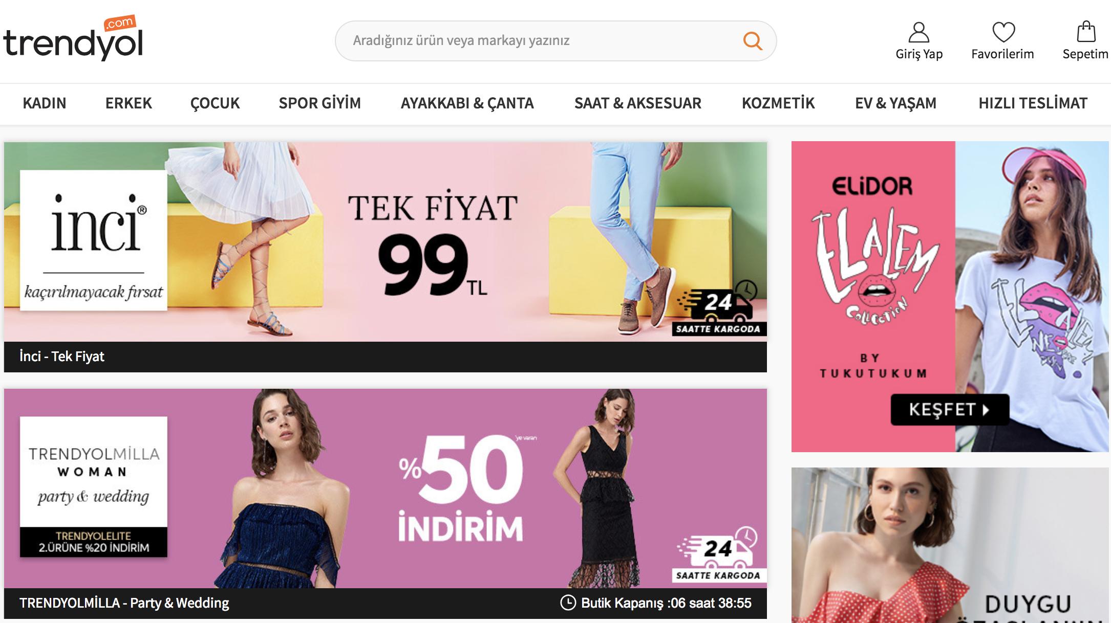 Alibaba Trendyol'a Ortak Oluyor
