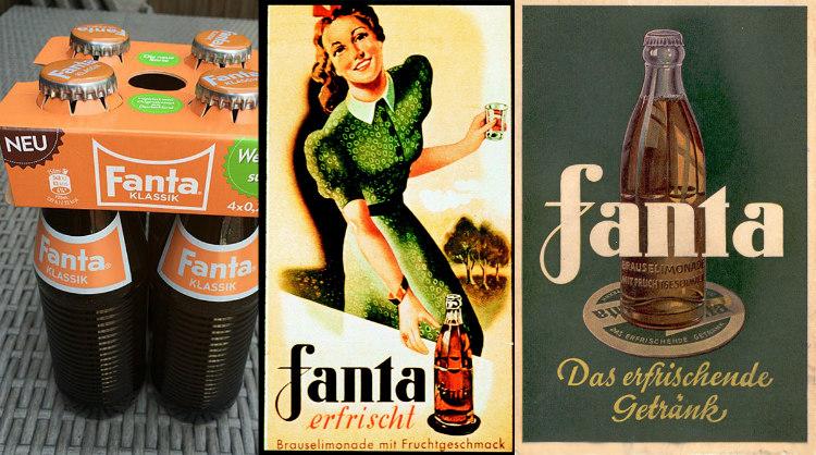 Fanta Nazi Almanyasında Kolaya Alternatif Olarak Nasıl Icat Edildi
