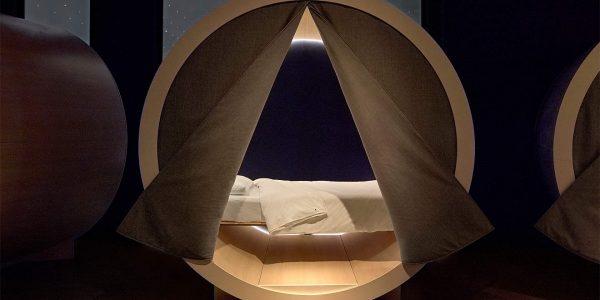 Şehrin Ortasında Dilediğiniz Zaman Uyuyabileceğiniz Uyku Salonu