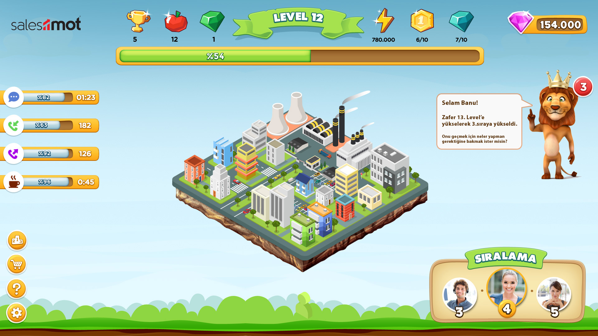 Neyin Nesi: İş Yerinde Satış ve Performansı Artıran Oyunlaştırma Platformu Salesmot