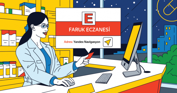 """Yandex Navigasyon'dan Yeni """"Nöbetçi Eczaneler"""" Özelliği"""