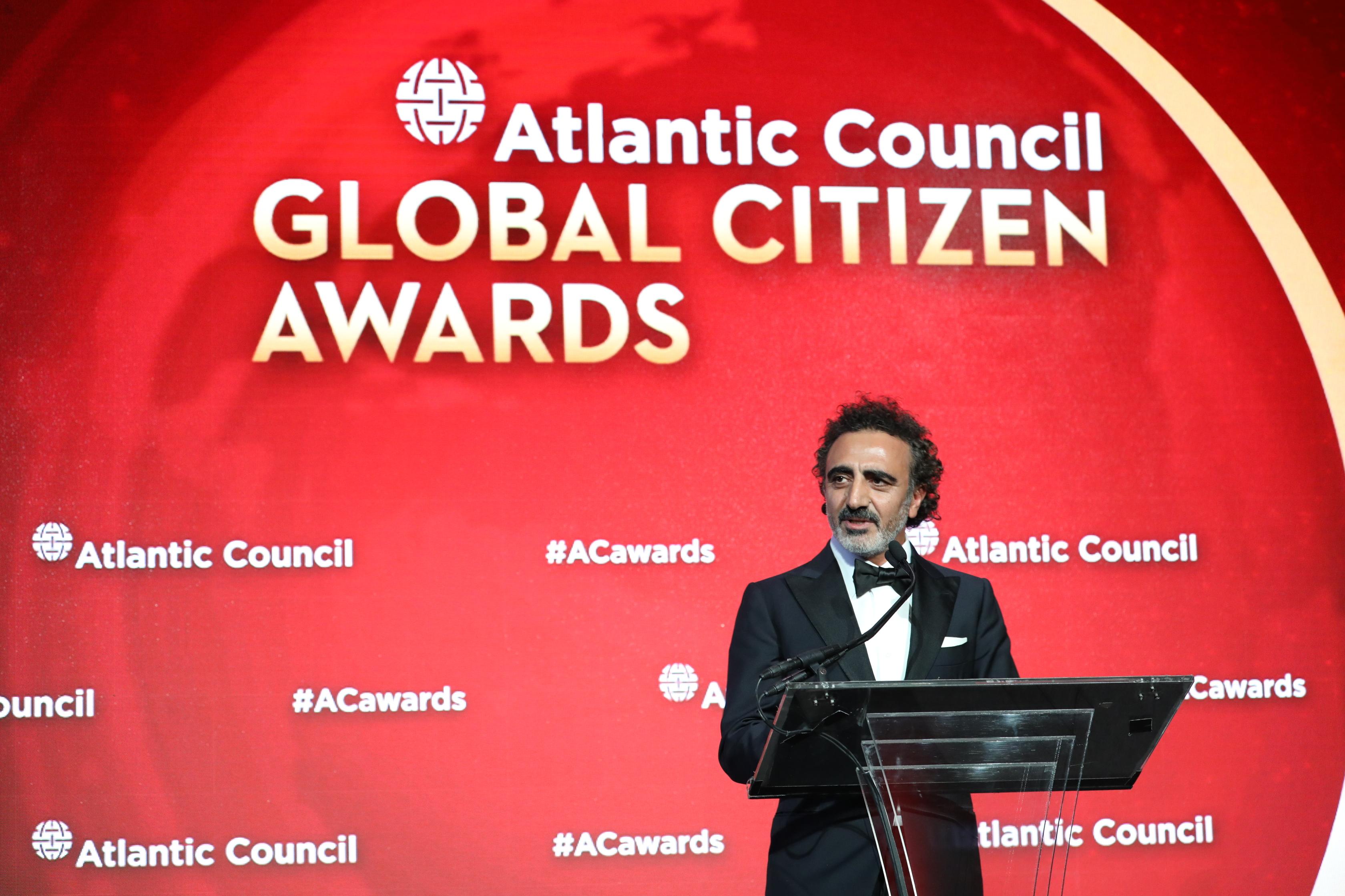 """Hamdi Ulukaya'ya """"Küresel Vatandaşlık Ödülü"""""""