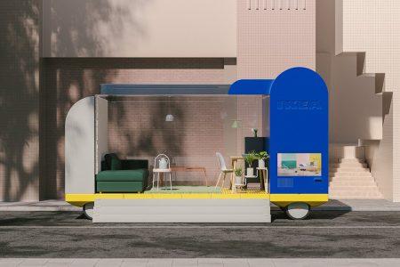 IKEA'nın Yaşam Alanı Şeklindeki Otonom Araç Konseptleri
