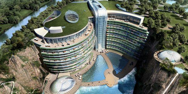 Eski Bir Taş Ocağının Yerine İnşa Edilmiş Dünyanın İlk 5 Yıldızlı Yeraltı Oteli