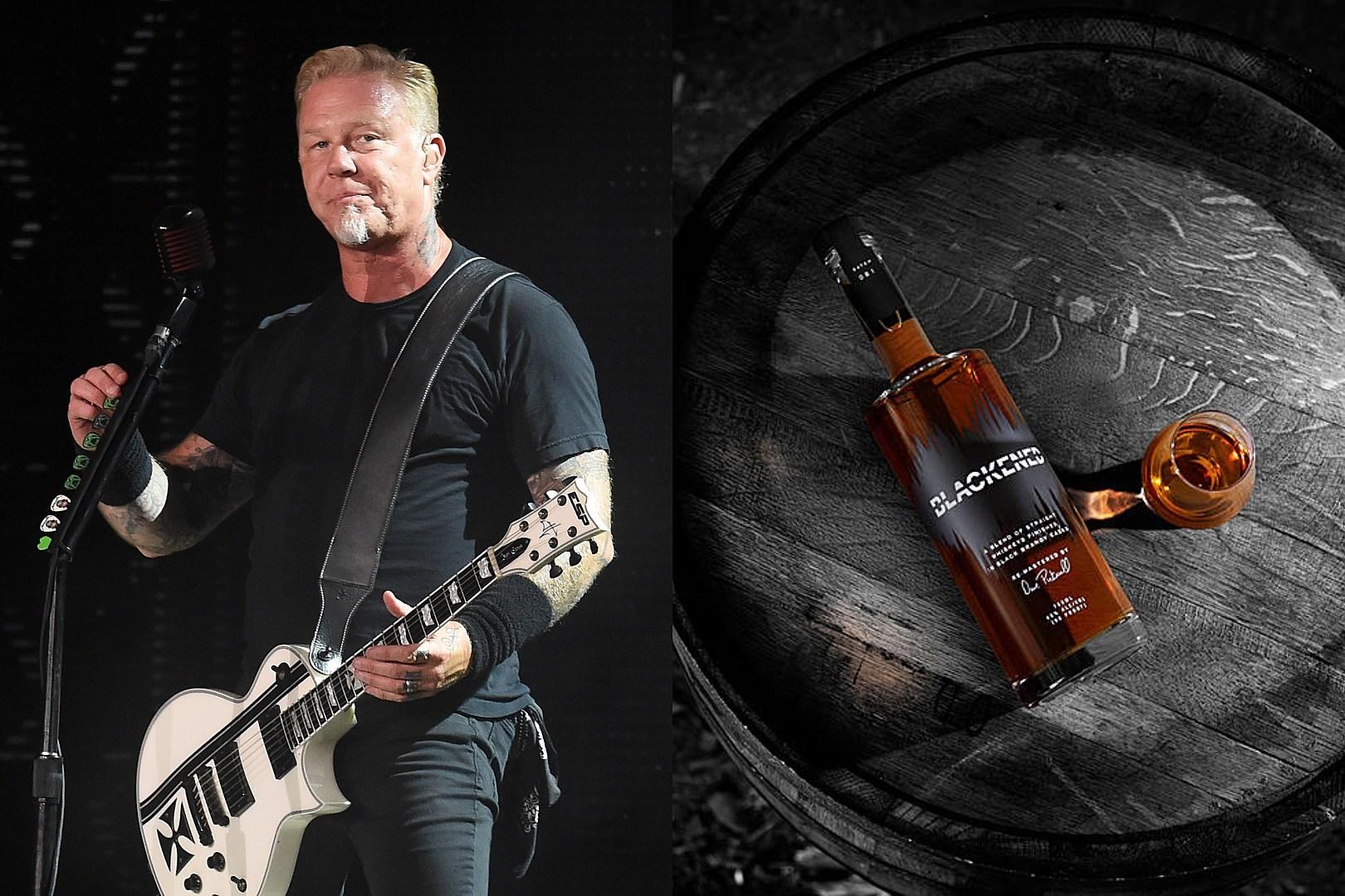 Metallica Viski Pazarına Girdi