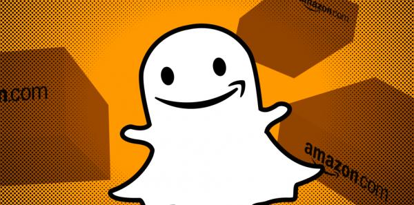 Snapchat ve Amazondan İş Birliği