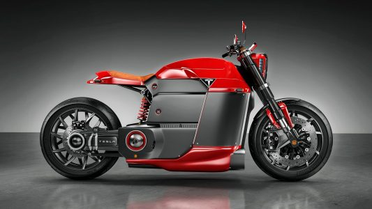 Tesla Elektrikli Motosiklet Konsepti: Tesla Model M