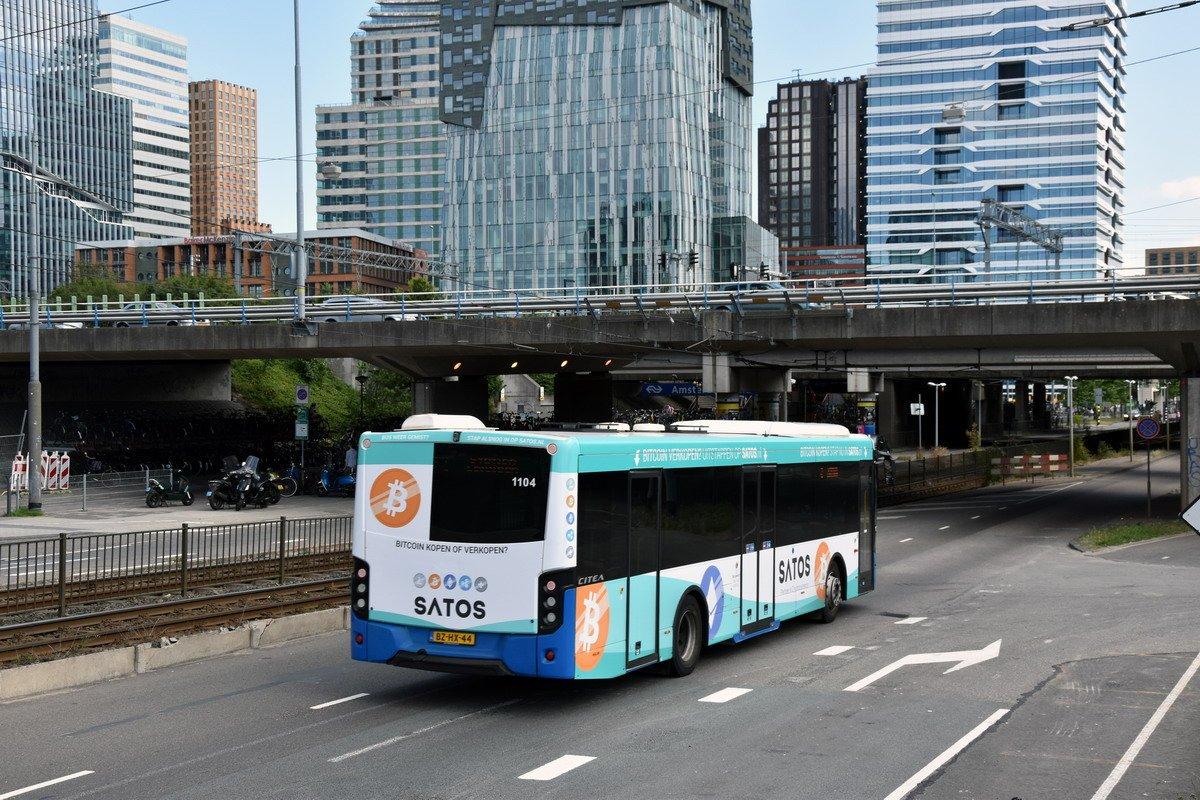 Bir Kripto Para Borsası, Online Reklam Veremeyince Otobüsü Reklam Aracına Dönüştürdü