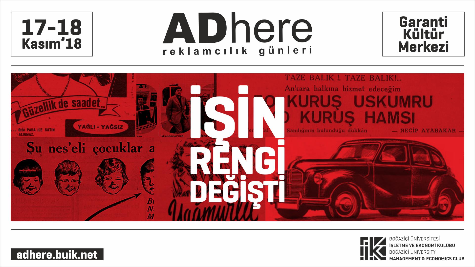 ADhere Reklamcılık Günleri Başlıyor