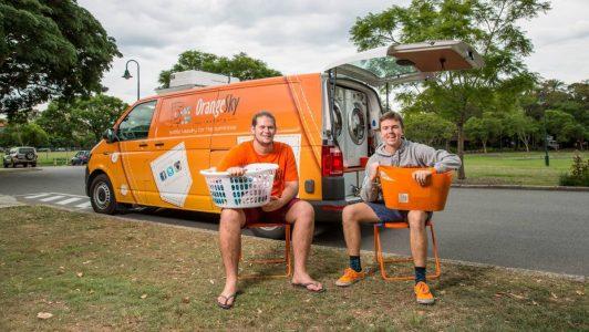 Evsizler İçin Ücretsiz Mobil Çamaşırhane Hizmeti