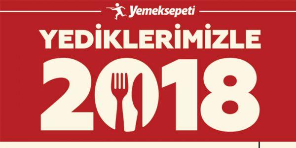 Yemeksepeti Türkiye'nin 2018 Menüsünü Oluşturdu