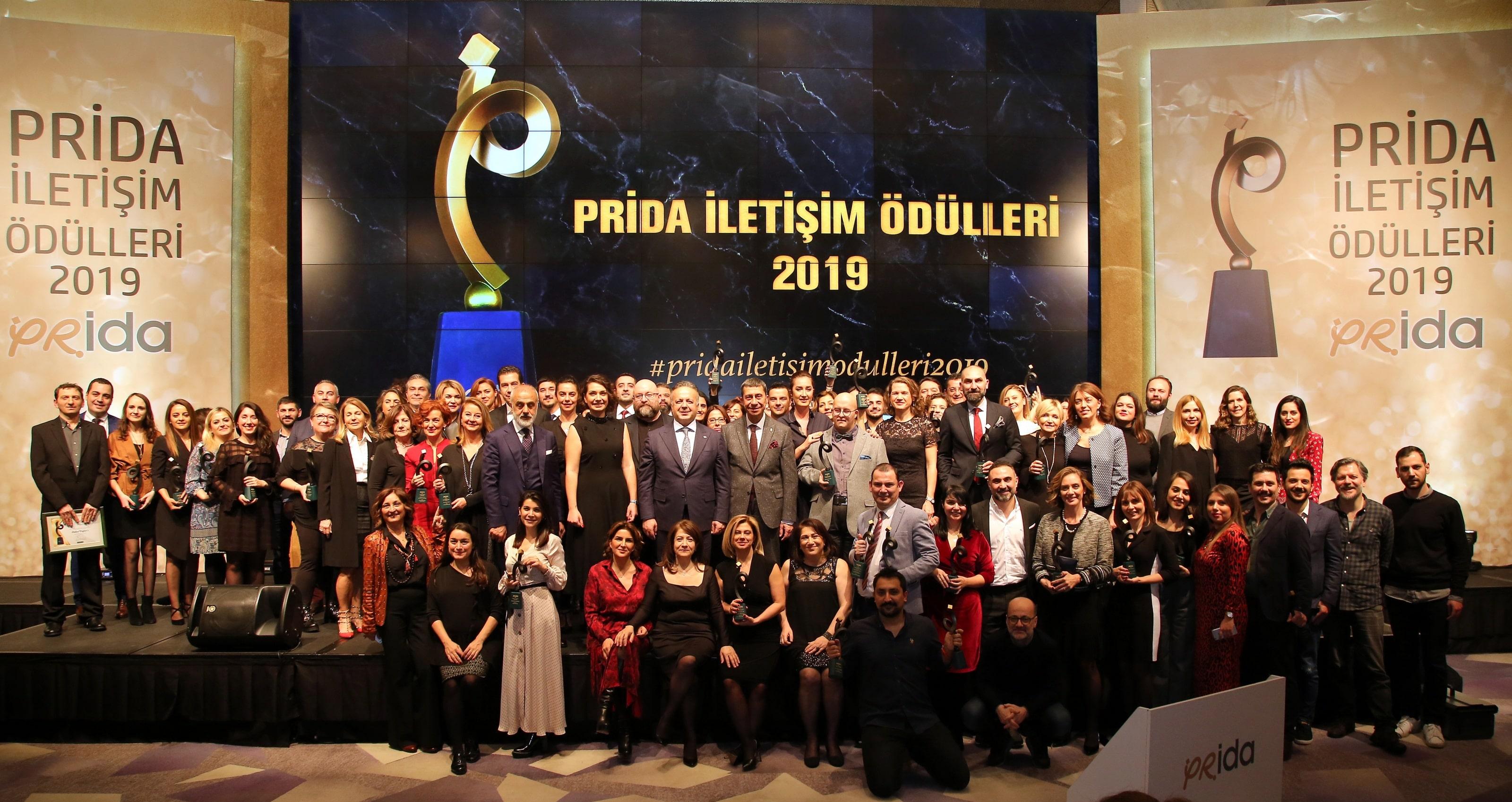 'PRİDA İletişim Ödülleri' Sahiplerine Kavuştu