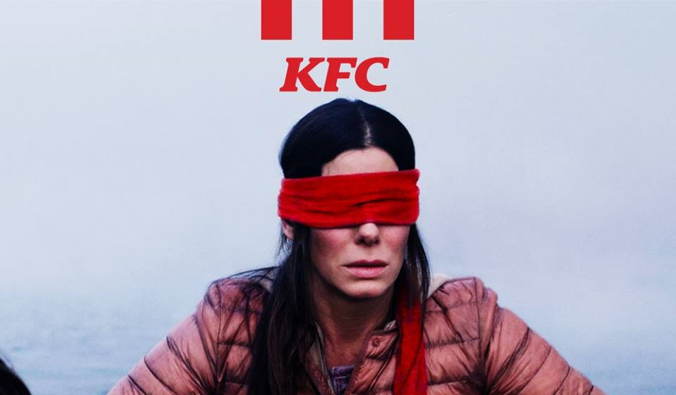 KFC, Bird Box Filmi Üzerinden Reklam Yaptı