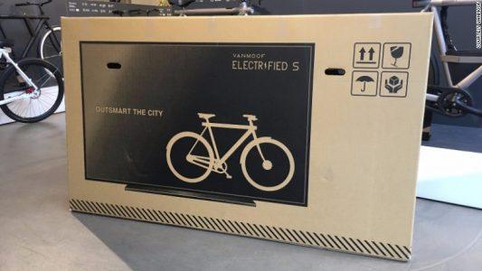 Bisiklet Üreticisi, Kutuların Üzerine TV Resmi Koyarak Hasarları %80 Azalttı