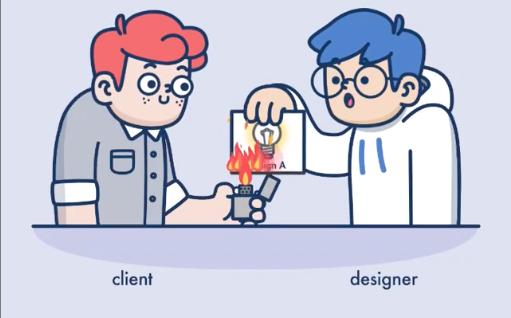 Tasarımcı-Müşteri Çekişmesine Eğlenceli Bir Bakış