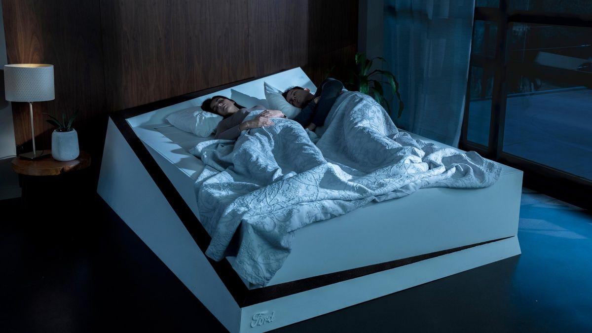 Ford'dan Çiftlerin Yatak Kavgalarına Son Verecek Teknolojik Yatak