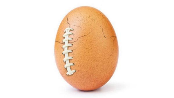 Instagram Rekortmeni Yumurta Super Bowl'da Çatladı