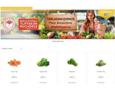 ePttAVM ile Tanzim Satışları İnternete Taşınıyor