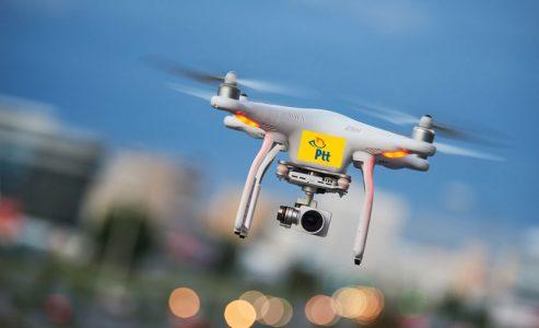 PTT Drone ile Kargo Dağıtmaya Başlıyor