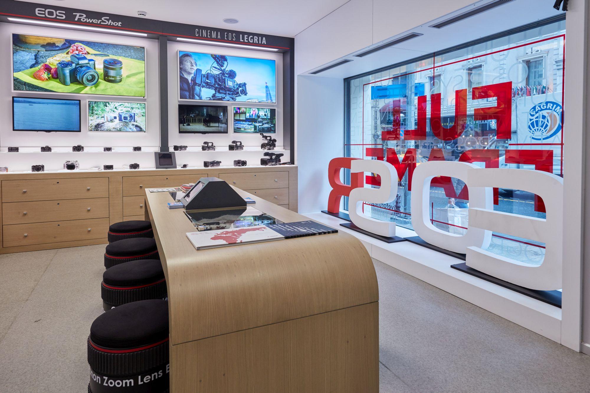 Canon Avrupa, Ortadoğu ve Afrika'daki İlk Deneyim Merkezini İstanbul'da Açtı