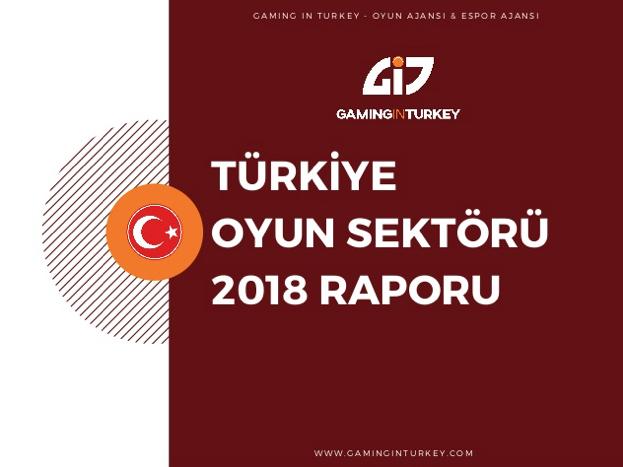 Türkiye Oyun Sektörü 2018 Raporu Açıklandı, 2018'de 853 Milyon Dolar Gelir Elde Edildi