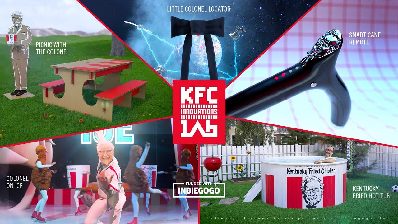 KFC, Tuhaf Pazarlama Fikirleri İçin Indiegogo'da Destek Arıyor
