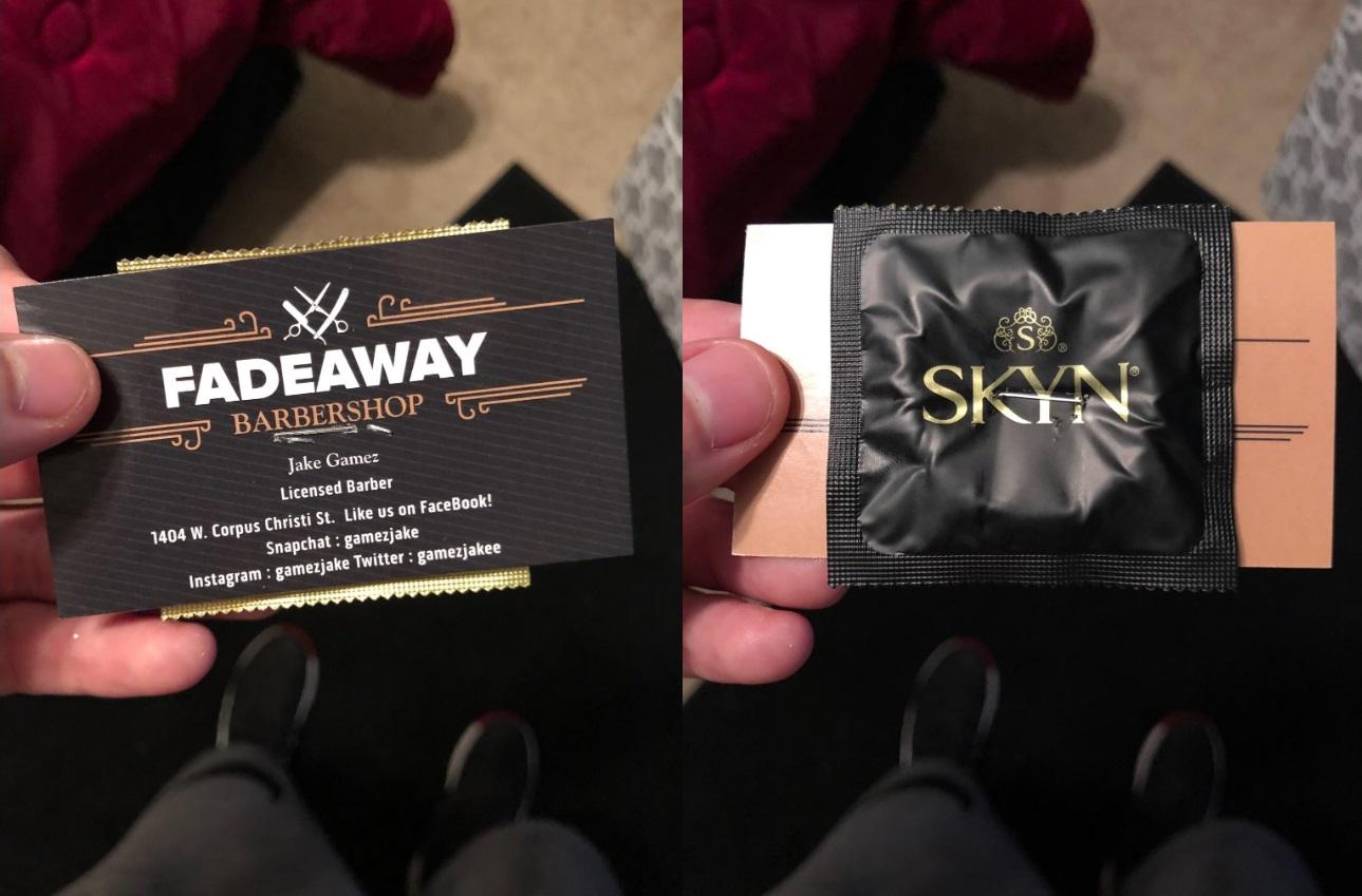 Pazarlama Taktiği Olarak Müşterilerine Ücretsiz Kondom Veren Berber
