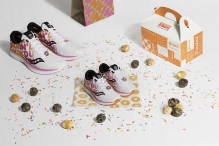 Donut Markası Dunkin'den Lezzetli Koşu Ayakkabıları