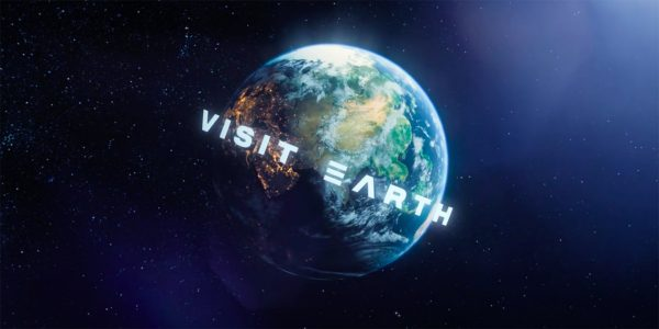 """Uzaylılar İçin Yapılmış Turizm Kampanyası: """"Dünyayı Ziyaret Et"""""""