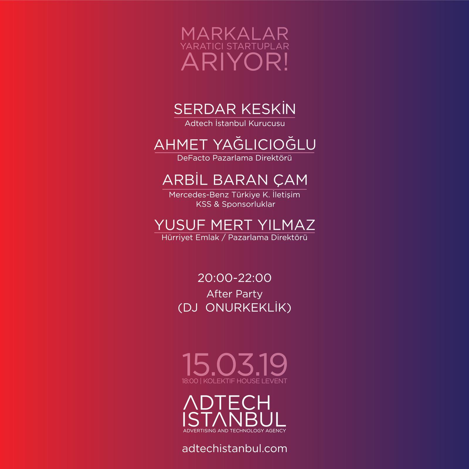 Markalar Adtech İstanbul ile Yaratıcı Startuplar Arıyor