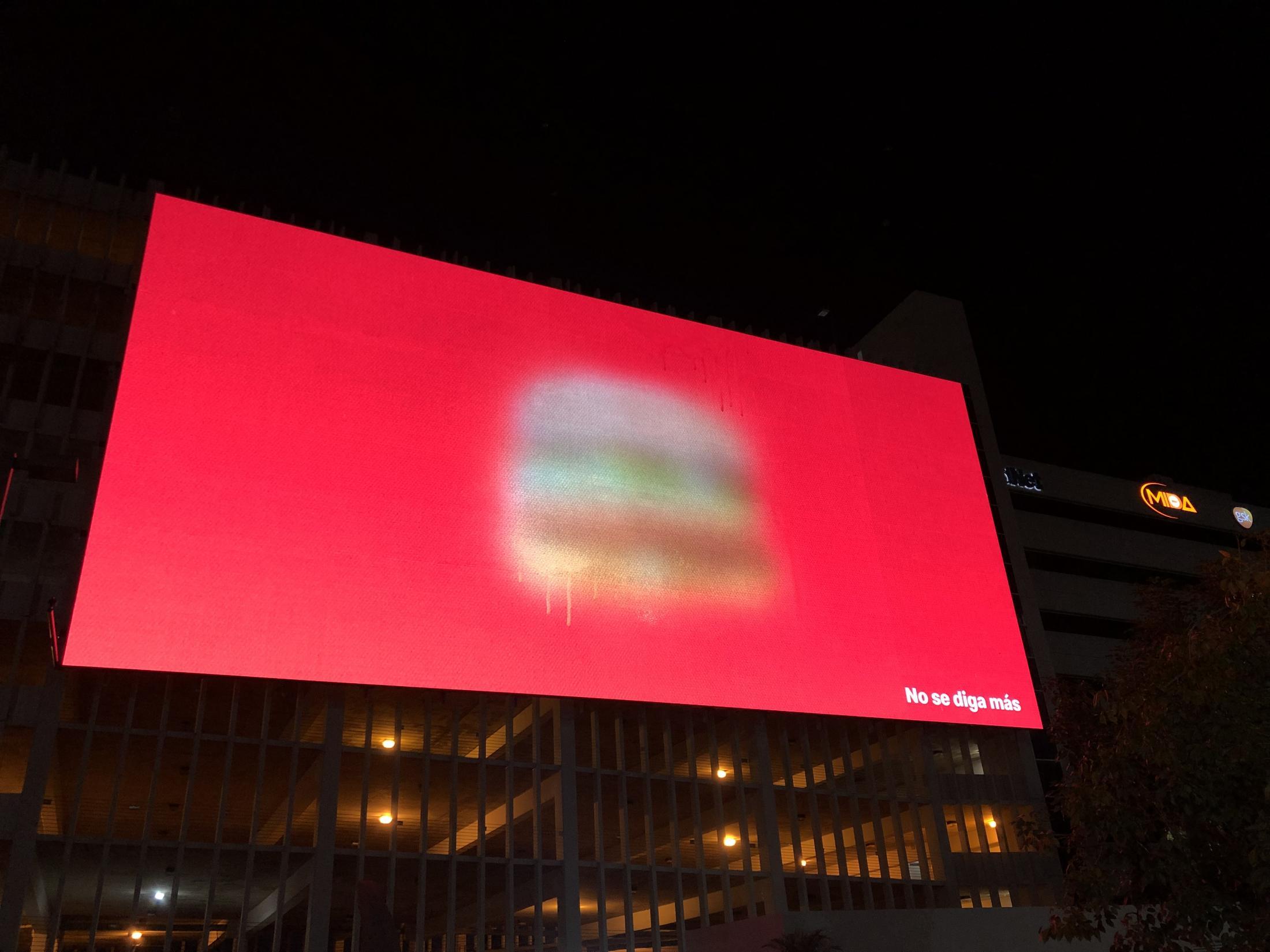 McDonald's'tan Optik İllüzyon Testli Açık Hava Reklamları