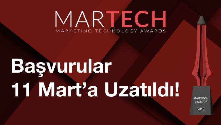 MarTech Awards Son Başvuru Tarihi Uzatıldı!