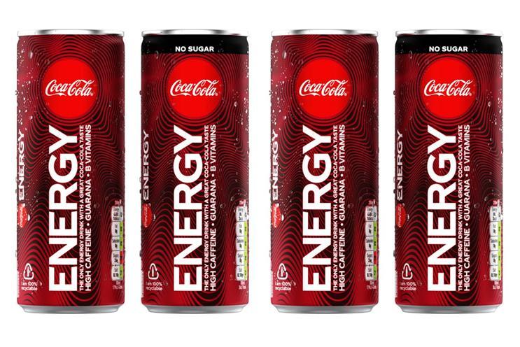 Coca Cola Ürün Dizisini Genişletiyor: Coca Cola Energy Drink