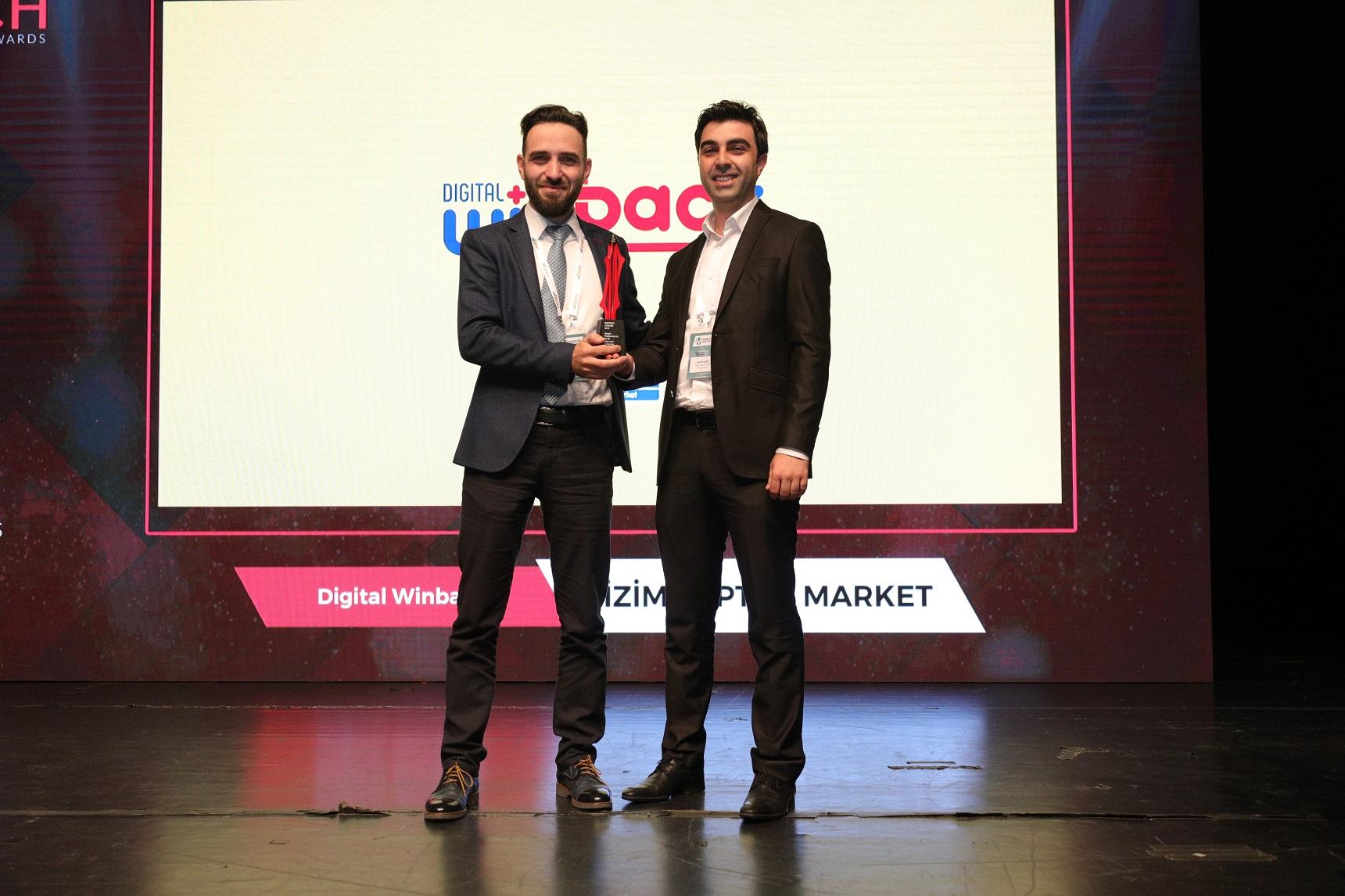 Bizim Toptan'a MarTech Awards'tan İki Ödül Birden