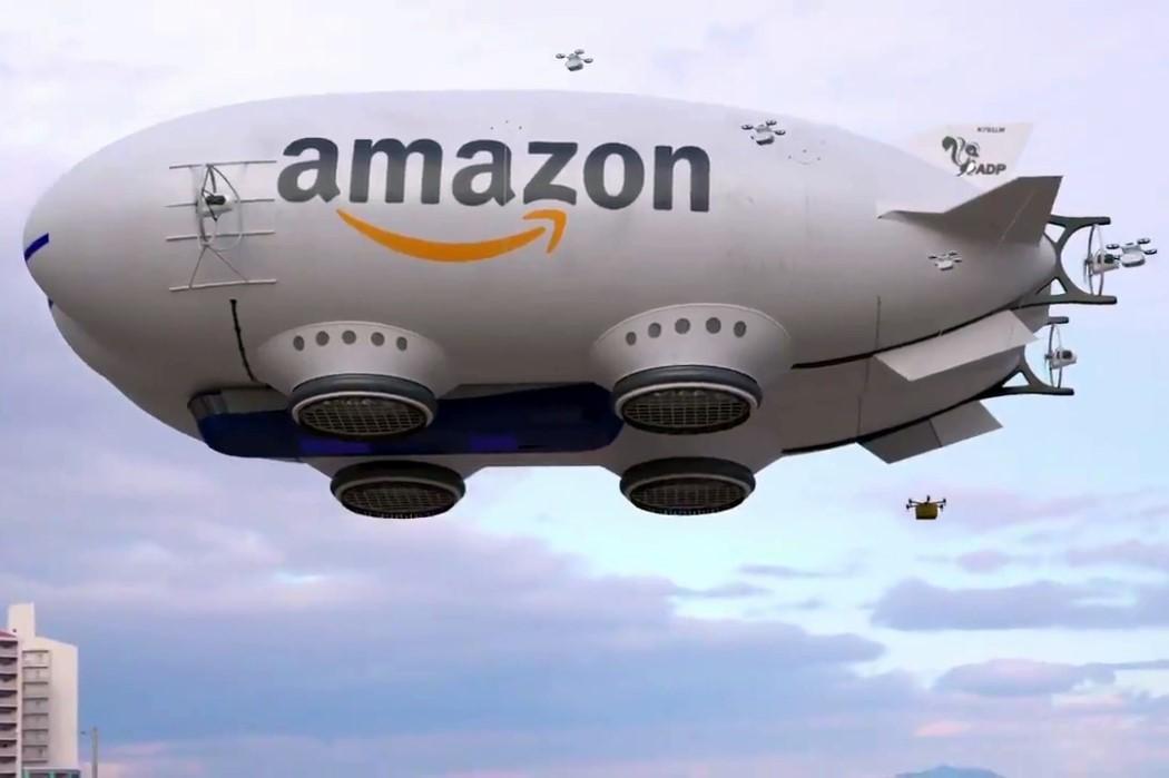 """Amazon'un Henüz Gerçek Olmayan """"Distopik"""" Drone Balonu"""