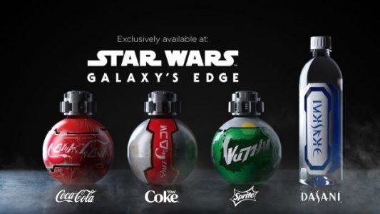"""Coca-Cola ve Disney Ortaklığında """"Star Wars: Galaxy's Edge"""" İçin Galaktik Şişe Tasarımları"""